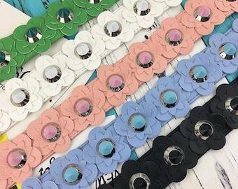 Flower rivet guitar purse strap,colorful purse shoulder bag strap, purse handle strap, Handbag strap, bag strap, interchangeable,