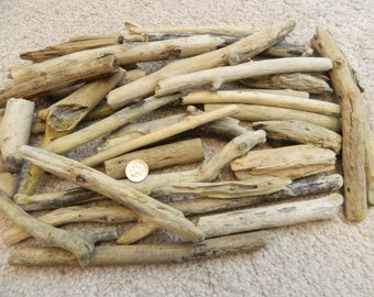 30 Driftwood pieces for mosaic crafts