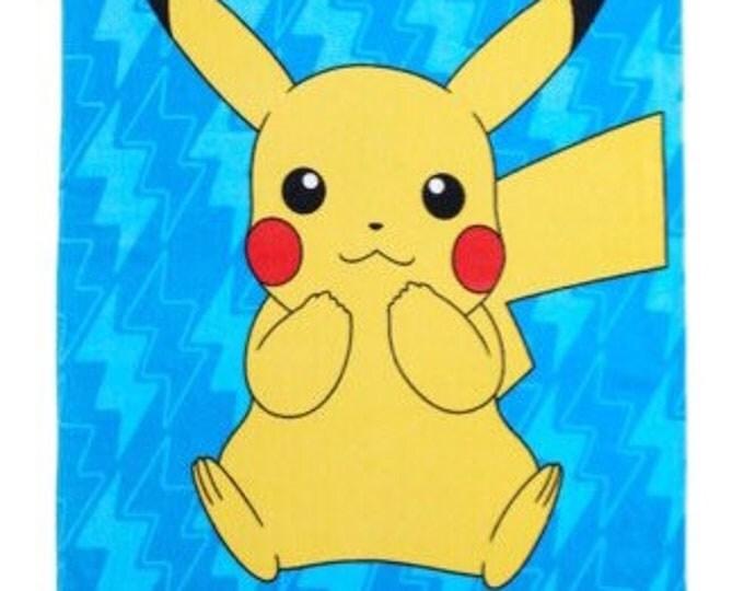 Pokémon Beach Towel - Pikachu Personalized Beach Towel
