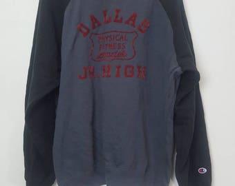 Vintage Champion product Dallas Jr. High sweatshirt