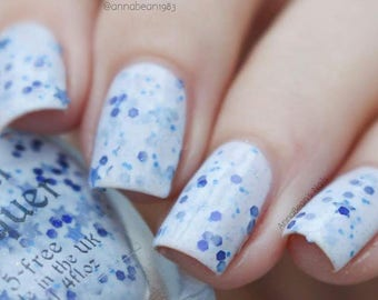 Highway Star - light blue crelly nail polish (11ml)