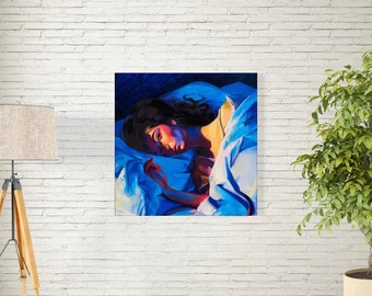 """Lorde Poster - Homemade Dynamite Album Music Cover - New Zealand Singer - Artist Print - Size 12x12"""" 18x18"""" 24x24"""" 32x32"""""""