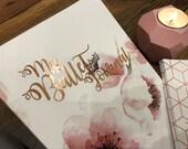 Bullet book/Bullet journal/Wedding planner