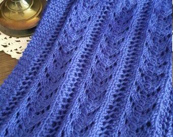 Women's Juliet Knit Scarf - Celestial Blue