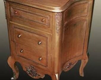 Baroque Cabinet antique style shock gold MoGl0470