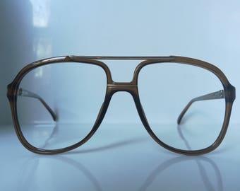 Vintage   Playboy 4602 Man Aviator Eyeglass Frame Germany NOS