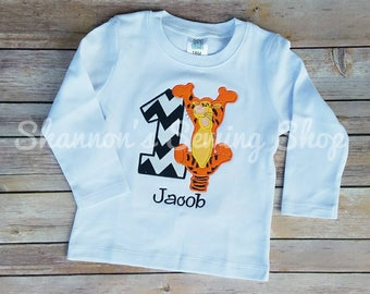 Tigger Birthday Shirt