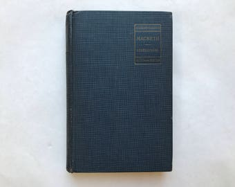 Academy Classics Macbeth Shakespeare, Allyn and Bacon 1942