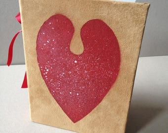 Handmade Book, 'Nebula Heart'-Book III