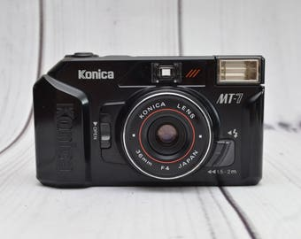 Konica MT-7 35mm Film Point and Shoot Camera
