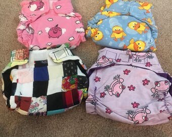 Cloth Diapers New Handmade