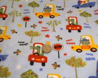Clearance Fabric! ~ Transportation Baby Fabric ~ *Store Closing Sale*