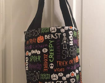 READY TO SHIP Trick or Treat Bag
