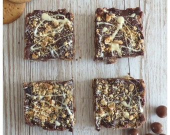 Malteser Mash - yummy chocolate traybake