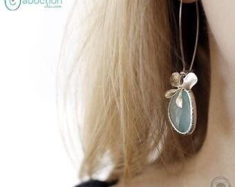Earrings sleepers, Ophrys Mint