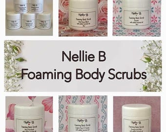 Foaming Body Scrubs