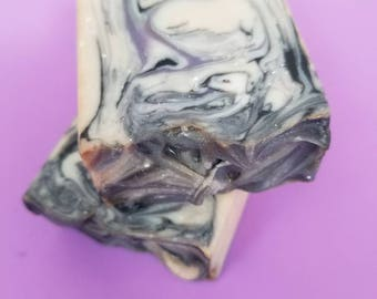 shaded handmade artisan soap