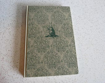 Rabbit Hill by Robert Lawson, Vintage 1956 Hardcover Illustrated Children's Book