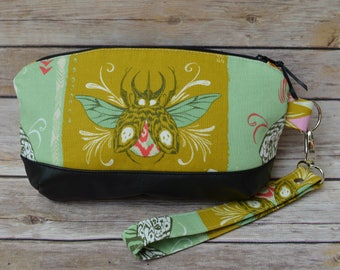 Insects, Nature and Bugs Wristlet Purse