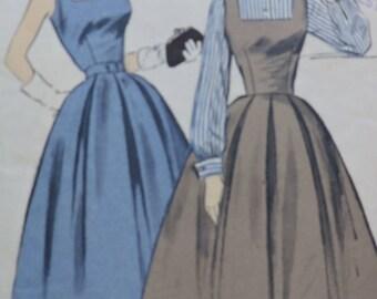 Advance Classic Vintage Jumper Dress & Blouse Sewing Pattern 6914 Sz. 12