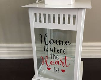 Big White or black Borrby lantern, wedding decor, wedding centrepiece, table, wedding reception, home decor, home is where the heart is