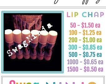 LIMITED TIME lip chap for sale Author Book Swag Blog Swag FREE shipping