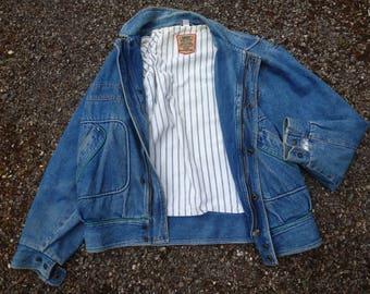 vintage 80's jeans jacket