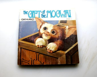 Gremlin Adventures//See the pictures  Hear the record  Read the book//1-3 of Gizmo the Mogwai