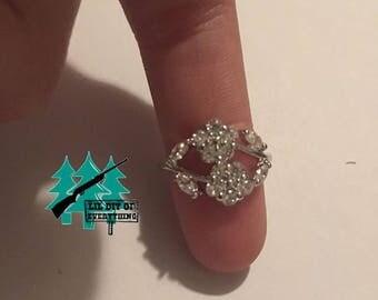 Flower Gem Ring