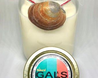 Jamaica Me Crazy 12oz Mason Jar Soy Wax Organic Candle