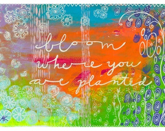 Bloom Giclee small print