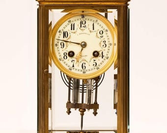 French mantel clock , 1888