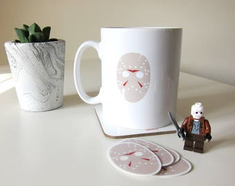 Ki Ma, Friday 13th inspired horror mug V2