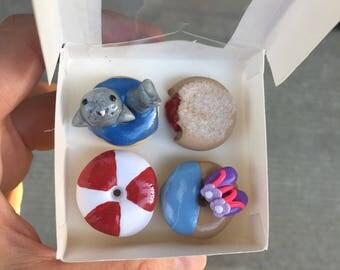 Shark Week Mini Donut Magnets