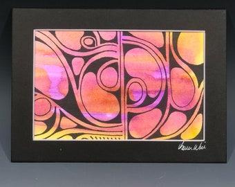 Watercolor 4x6