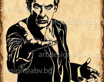 Vector DOCTOR WHO, ai, eps, pdf, svg, dxf, png, jpg Download, Digital image, graphical, discount coupons