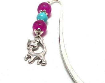 Brand pages fantasy silver, pink and turquoise beads