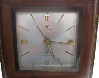 Cyma swiss made sonomatic vintage alarm clock retro style home decor