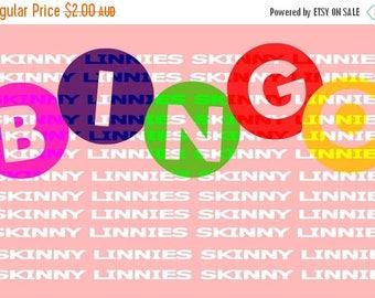 SALE. 30% off store wide BINGO balls SVG cutting file Slhouette, Cricut etc