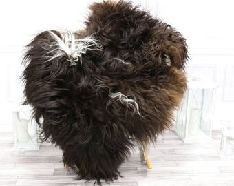 Icelandic Sheepskin | Real Sheepskin Rug | Brown Sheepskin Rug | Fur Rug | #islsept11