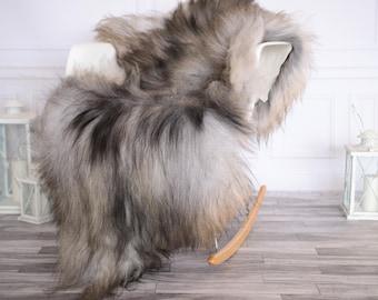 Icelandic Sheepskin | Real Sheepskin Rug | I Gray Sheepskin Rug | Fur Rug | Christmas Decorations #novisl1
