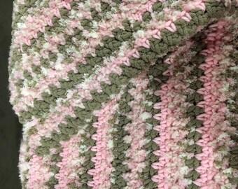 Pink Fluffy Baby Blanket