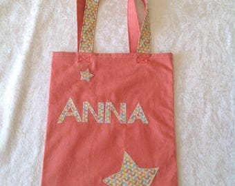Any personalized bag or library bag