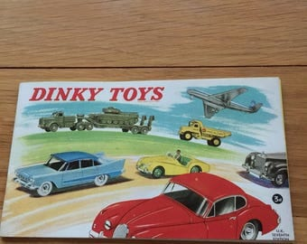 Dinky toy caterlog 1950's