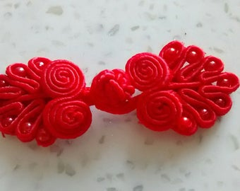 Attached Red Chinese 6cm in length