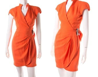 Thierry Mugler Futuristic Space Age Dress