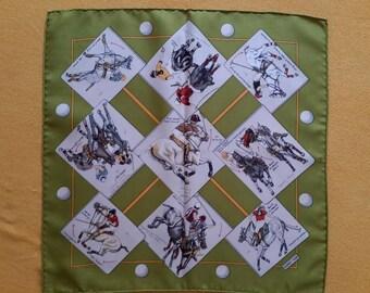 Hermes scarf, shawl 1988 silk