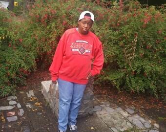vintage San Francisco 49ers super bowl champions sweatshirt xl
