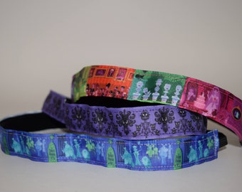 Haunted Mansion Headband-- Disney Headband- Disney Cruise- Headband- Sport Headband- Disney Headband