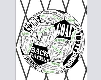 Soccer Team Gift, Soccer Gift, Soccer Coach Gift, Team Gift,  Team Gift Ideas, Team Gifts Soccer, Soccer Player Gift, Soccer Coach Gift Idea